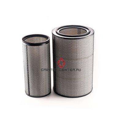 Фильтр воздушный (к-т наружный и внутренний) (с резинкой) LEO ЕВРО-2, WP10 ЕВРО-3 (336 Л.С.) SHAANXI, SHAANXI F3000, SHACMAN WP1