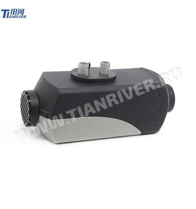 Отопитель воздушный Tianriver 12 B, мощность 3 кВт, пластик, черный-серый
