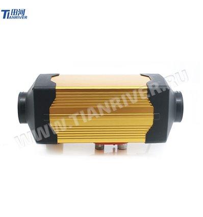 Отопитель воздушный Tianriver 12 В, мощность 3 кВт, алюминий, золотой