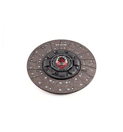 Диск сцепления ведомый 430 мм шлицевая D 50,8 d 41 низкий 8 пружин SHAANXI 612600170059 CK