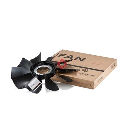 Лопасти вентилятора d-620мм 10 лопастей (без кольца) Shaanxi, Howo Createk
