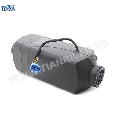 Отопитель воздушный Tianriver 12 В, мощность 2кВт, пластик, черный
